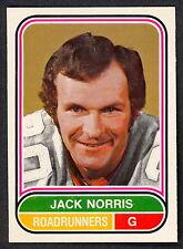 1975 76 OPC O PEE CHEE WHA #114 JACK NORRIS NM PHOENIX ROADRUNNERS HOCKEY CARD