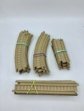 Thomas and Friends Trackmaster Train Track Lot Tan beige 20 Pieces Curves