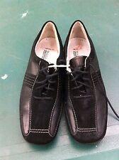 Women's Waldlaufer Black Laced Shoes, Size 3