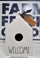Rae Dunn Birdhouse WELCOME Square NEW 2019