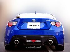 SUBARU BRZ 2013 / Toyota GT86 / Scion FRS SIDE Gon na Extensions & Labbra posteriore.