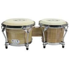 GP Percussion B2 Pro-Series Tunable Bongos 6/7in. (Clear Finish Hickory)