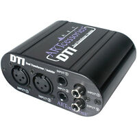 ART AV Direct Multi-Input Audio//Video Direct Box AVDIBOX AVDirect FREE 2DAY SHIP