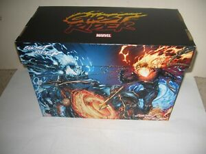 "MARVEL ""GHOST RIDER"" -new- DESIGNER COLLECTOR'S STORAGE BOX -holds 175+"