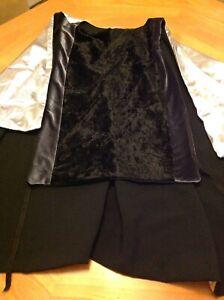 Renaissance Knight Warrior Tunic Medieval Costume Black Silver Times Larp Faire