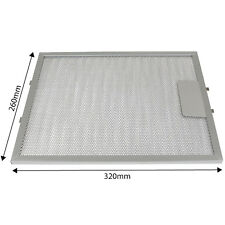 For Belling 320 x 260mm Metal Cooker Oven Hood Extractor Fan Vent Grease Filter