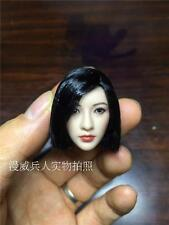 1/6 Asia Beauty Head Sculpt Similar to Sally Jing Tian Short Hair F 12'' PH Body
