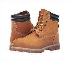 NEW Levi's Men's Harrison Construction Boots Tan Suede Wheat Work Sz 13