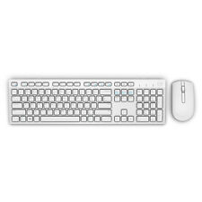 Dell Km636 Bluetooth QWERTY English White Keyboard