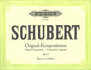 SCHUBERT Klavierkompositionen vierhändig Ed.Peters 155a - NEU mod. Antiquariat