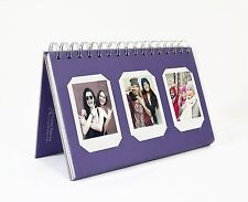 Photo Album Book style 60 Pocket for Fuijufilm Instax Mini (Purple)