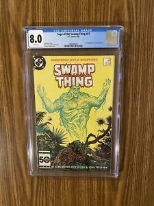 Saga of the Swamp Thing #37 - DC CGC 8.0 1st App John Constantine! HELLBLAZER!