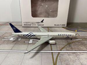 "1/400 JC Wings KLM Royal Dutch Airlines B777-306ER PH-BVD ""Skyteam"""