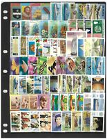 St Kitts & Nevis 75 Different Thematic Stamps All Complete Sets Mint Unhinged