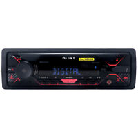 Sony DSX-A410BT Single DIN AM FM USB AUX Bluetooth Car Stereo Audio Receiver