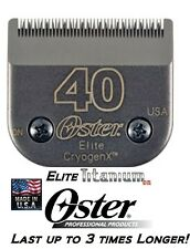 Oster A5/A6 ELITE TITANIUM #40 BLADE*Fit Most Andis,Wahl Clippers PET GROOMING