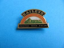 Bailey's Irish Cream Label Shaped pin badge. VGC. Unused.