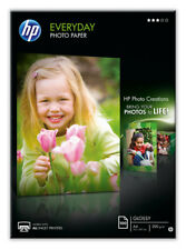 Original Genuine HP Q2510A Everyday Photo Paper Semi Gloss Pack of 100 Sheets