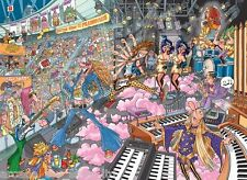 Jumbo Destiny Wasgij 16 Old Time Rockers! 1000 piece cartoon jigsaw puzzle