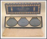 Vtg NEW Avon Avonshire Blue 3 Hostess Fragrance Soaps 2 Oz Ea-In Orig Box (F506)