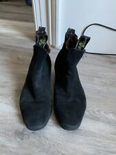 R M WILLIAMS SUEDE ANKLE BOOTS SIZE UK 7