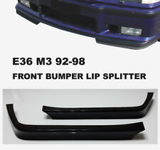 E36 M3 lip bumper GT front Spoiler Splitter bottom 92-98 318i 325i BMW M Tech