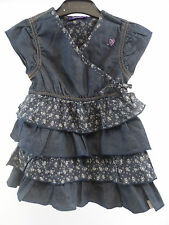 mexx girls denim dress Size 24-30 months box72 93 F