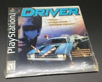 Driver (Sony PlayStation 1, PS1) DEMO DISC - FACTORY SEALED - RARE SLEEVE CASE