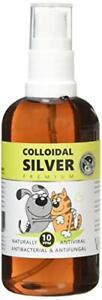 Nature's Greatest Secret Colloidal Silver Antibacterial Pets Spray, 100 ml
