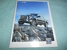 "FORD 2016 F-150 TRUCK BROCHURE GUIDE BOOKLET 7-1/4"" X 9-1/2"" 60 PAGES"