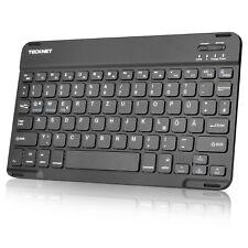 TECKNET Bluetooth Tastatur Ultra Dünn Deutsches Layout QWERTZ Kabellose Tastatur