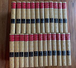 Vintage Funk and Wagnalls Standard Reference Encyclopedia Set Volumes 1-25 1969