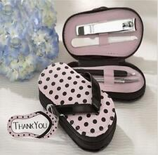 New! Manicure Set Nail Clipper Scissors Pedicure Kit Set Slipper Wedding Gift LA