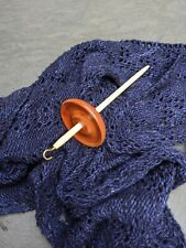 Handmade Jatoba Top Hook Drop Spindle Whorl
