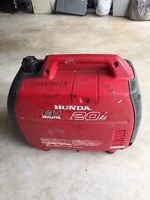 HONDA EU 20i (EU20i) Inverter Generator; Portable,Two 240v Outputs,2 KVA