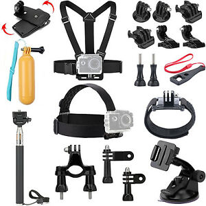 Accessories Kits for Canany WIFI Action Camera Full HD 1080P 12M 2.0inch Gopro 9