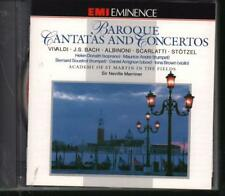 Marriner(CD Album)Baroque Cantatas + Concerto-New