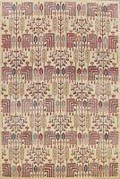 Geometric Tribal Super Kazak Oriental Vegetable Dye Area Rug Hand-knotted 8'x10'