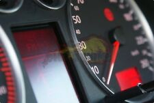 AUDI A3 RS3 4-teilig  ALU TACHORINGE / TACHO RINGE in Matt sportlicher RS3 Look