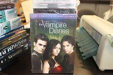 The Vampire Diaries Season 2 CW Series DVD 5-disc Brand New Factory Sealed