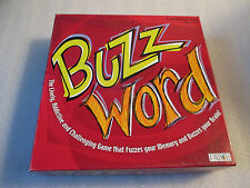 Patch 2003 BUZZ WORD Challenging Memory Family Party Game Complete