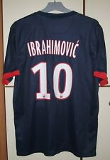 PSG PARIS SAINT GERMAIN FRANCE 2013/2014 HOME FOOTBALL SHIRT #10 IBRAHIMOVIC