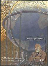 Belgique 2010 BL 178 (3992) ** Mundaneum et Internet Globe terrestre
