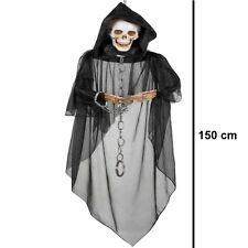 Skull Ghost Geist 150 cm Zombie  Hängedeko Halloween Party Deko  #2007