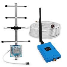 800MHz LTE 4G Band 20 Handy Signalverstärker Yagi-Außenantenne Haus Büro Set DE