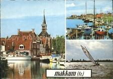 72323420 Makkum Ijsselmeer Vissersplaats Segeln Makkum