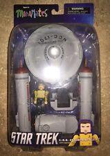 Star Trek Minimates U.S.S Enterprise NCC-1701 with Capt Kirk Yellow NEW IN BOX