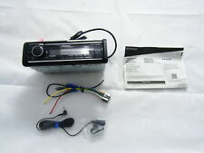 Kenwood KMM-BT525HD In-Dash Digital Media Receiver Bluetooth Satellite Radio VG