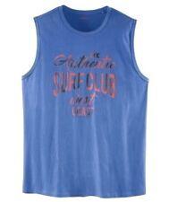 LIVERGY Herren Achselshirt Größe 4XL   68 70 Muskelshirt Shirt Tanktop Blau  NEU 0e886d728f