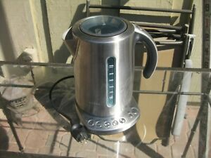 BREVILLE IQ Kettle - Variable Temperature Stainless Steel Kettle (BKE820XL)